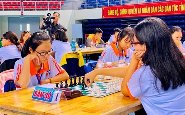 Inician en Ciudad Ho Chi Minh Campeonato Nacional de Ajedrez 2021 hinh anh 1