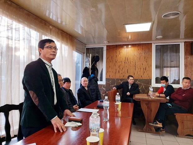 Vietnamitas en Ucrania aspiran a participar en actividades culturales de la Patria hinh anh 1