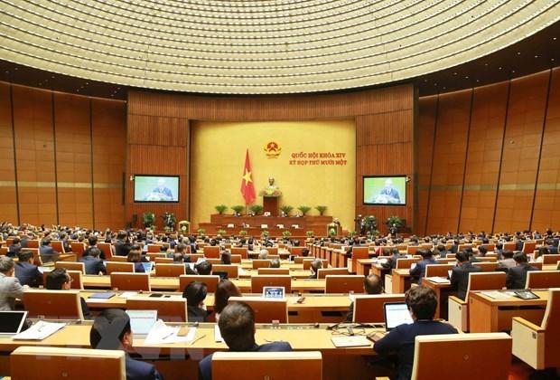 Parlamento de Vietnam prosigue evaluacion de trabajo del mandato 2016-2021 hinh anh 1