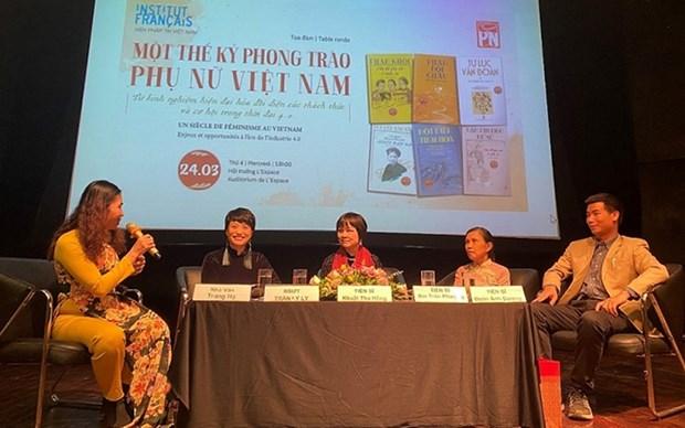 Dialogan en Hanoi sobre movimientos femeninos vietnamitas durante siglo XX hinh anh 1