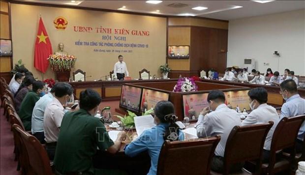 Provincia vietnamita de Kien Giang rastrea casos de entrada ilegal hinh anh 1