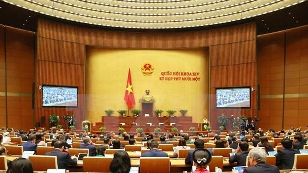 Asamblea Nacional de Vietnam revisa trabajos realizados durante la XIV legislatura hinh anh 1