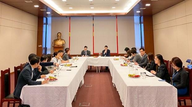 Vietnam y Singapur intensifican asociacion en materia de economia digital hinh anh 1