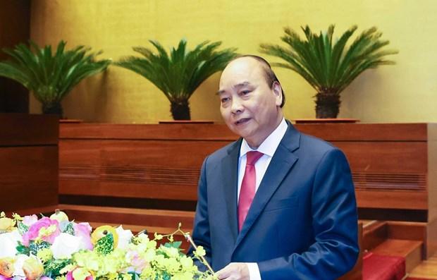 Premier vietnamita presenta estrategia de desarrollo socioeconomico en 10 anos proximos hinh anh 1