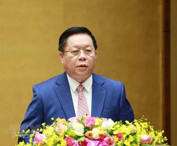 Piden acelerar elaboracion del plan de implementacion de Resolucion de XIII Congreso del Partido hinh anh 1