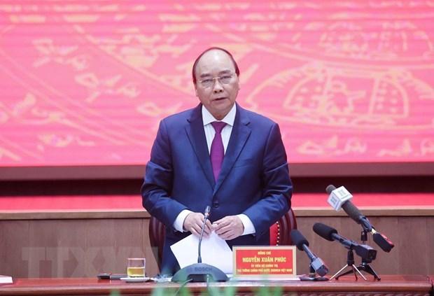 Premier insta a Hanoi a prestar atencion al desarrollo de ciudades satelites hinh anh 1