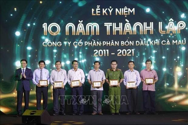 Desarrollan complejo de Ca Mau en centro de industria de petroleo y gas de Vietnam hinh anh 2