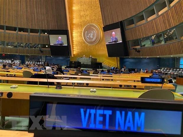 Destacan papel y reputacion de Vietnam en Consejo de Seguridad de la ONU hinh anh 1