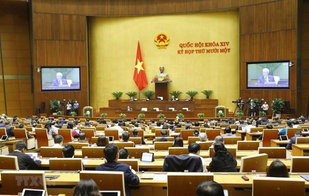 Parlamento vietnamita concluye cuarta jornada de su XI periodo de sesiones hinh anh 1