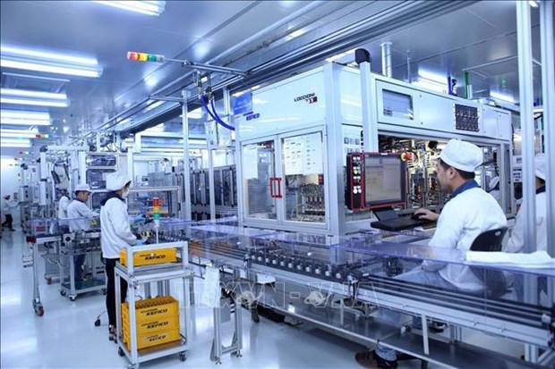 Capital de inversion extranjera directa en Vietnam aumenta 18,5 por ciento en lo que va de ano hinh anh 1