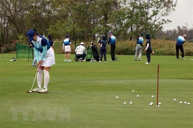 Comienza en Vietnam torneo hacia Semana de Turismo de Golf de Da Nang hinh anh 1