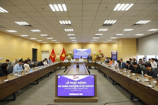 Comienzan votacion para Premio de transformacion digital de Vietnam 2021 hinh anh 1