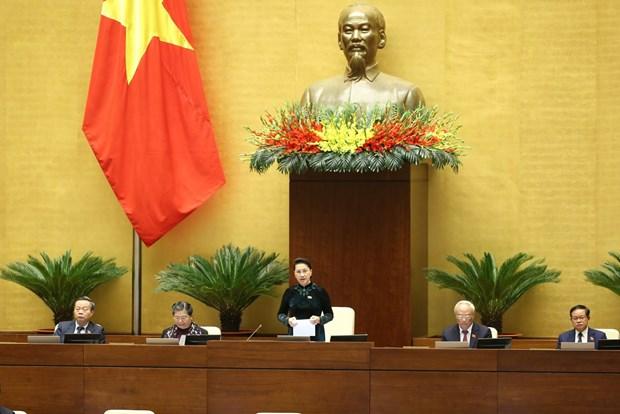 Proceden al relevo de Presidente de la Asamblea Nacional de Vietnam hinh anh 1