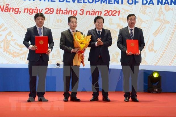 Anuncian decretos y decisiones del Gobierno sobre desarrollo de la ciudad vietnamita de Da Nang hinh anh 2