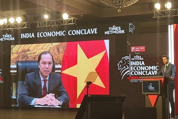Recomiendan agilizar lazos Vietnam- la India en conexion de cadenas de suministro hinh anh 1