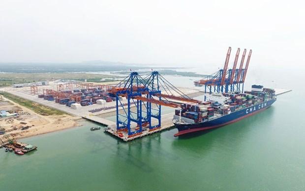 Instalaran otras gruas STS para el puerto mas grande de Vietnam hinh anh 1