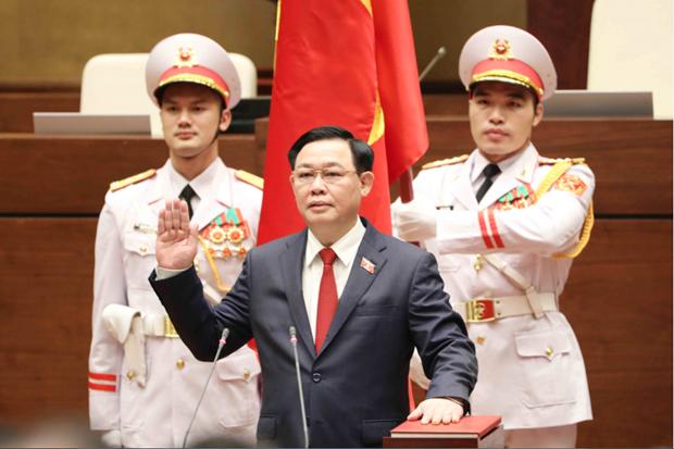Vuong Dinh Hue elegido Presidente de la Asamblea Nacional de Vietnam hinh anh 1