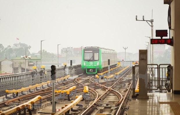 Entregaran en abril a Hanoi linea ferroviaria elevada Cat Linh-Ha Dong hinh anh 1