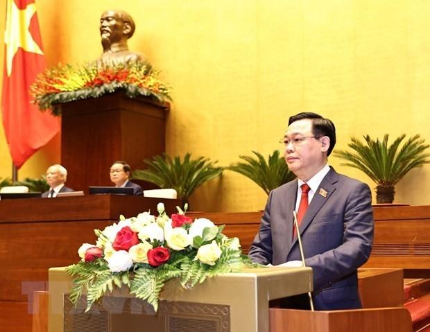 Dirigentes parlamentarios mundiales felicitan al nuevo presidente de Asamblea Nacional de Vietnam hinh anh 1