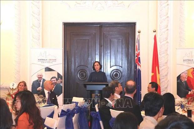 Saludan en Ciudad Ho Chi Minh 48 anos de relaciones diplomaticas Vietnam-Australia hinh anh 2