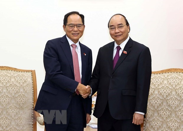 Recibe premier de Vietnam a empresarios sudcoreanos hinh anh 1