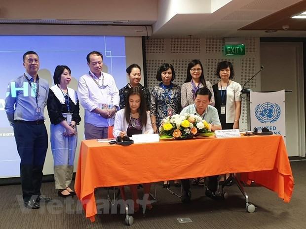 Fondo de la ONU proporciona equipos de atencion medica para Vietnam hinh anh 2