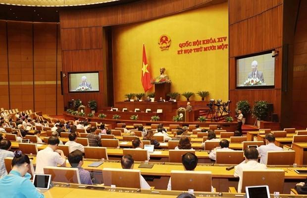 Asamblea Nacional de Vietnam procede al relevo del Primer Ministro y el Presidente del pais hinh anh 1