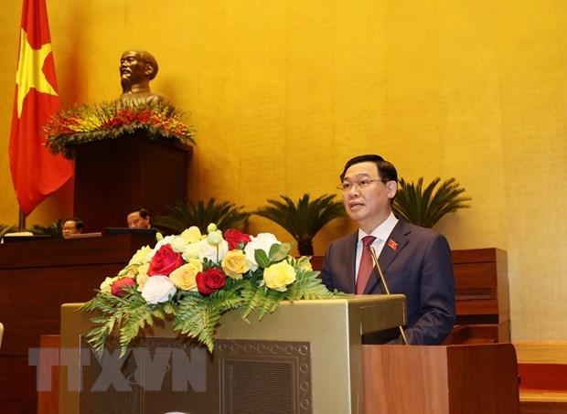 Analiza Parlamento asuntos de personal para elegir a presidente de Vietnam hinh anh 1