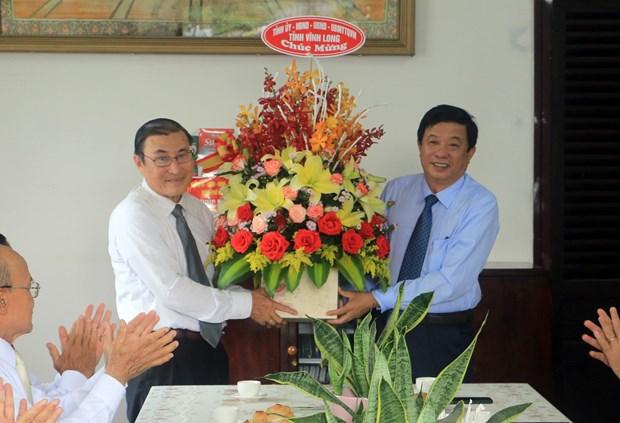 Felicitan a catolicos en provincia vietnamita de Vinh Long en ocasion de Pascua hinh anh 2