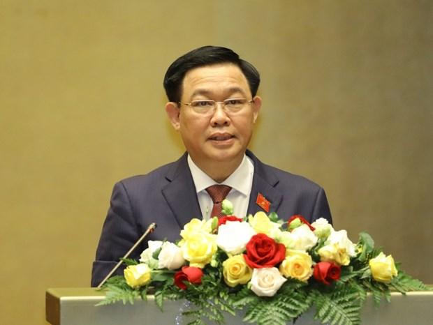 Camboya felicita a Vuong Dinh Hue, nuevo presidente de Asamblea Nacional de Vietnam hinh anh 1