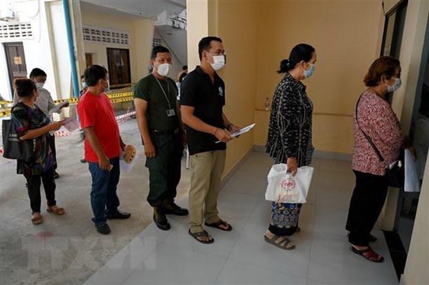 Primer ministro de Camboya agradece a Vietnam por su apoyo a lucha contra COVID-19 hinh anh 1