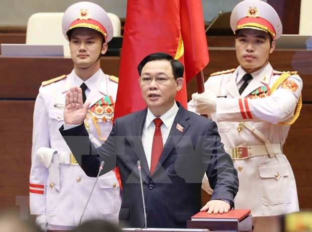 Camboya felicita a nuevo presidente de la Asamblea Nacional de Vietnam hinh anh 1