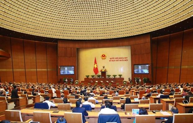 Asamblea Nacional de Vietnam realizara votacion secreta para elegir a Presidente y Primer Ministro hinh anh 1