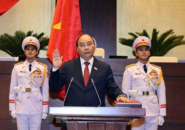 Felicitan lideres mundiales a recien elegidos dirigentes de Vietnam hinh anh 1