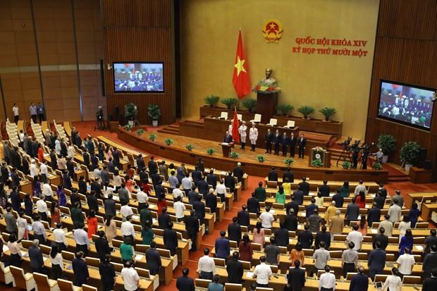 Nguyen Xuan Phuc jura su cargo como Presidente de Vietnam hinh anh 2