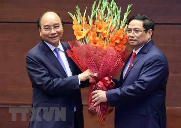 Felicitan lideres mundiales a recien elegidos dirigentes de Vietnam hinh anh 2