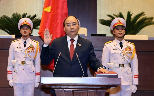 Nguyen Xuan Phuc jura su cargo como Presidente de Vietnam hinh anh 1