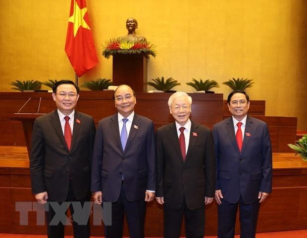 Medios egipcios aprecian la nueva dirigencia de Vietnam hinh anh 1