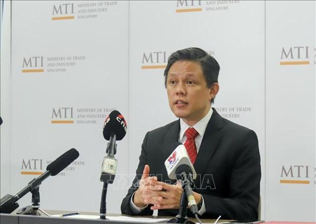 Singapur, el primer pais en ratificar Acuerdo de Comercio de Servicios de la ASEAN hinh anh 1