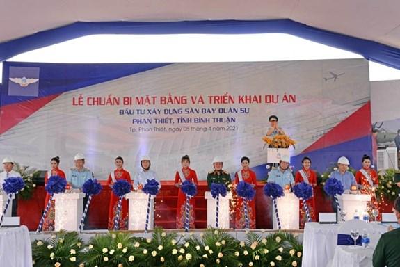 Comienzan construccion de aeropuerto en provincia vietnamita de Binh Thuan hinh anh 2