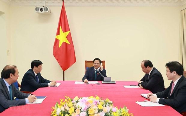 Primer ministro de Camboya confia en nuevos logros de Vietnam hinh anh 1