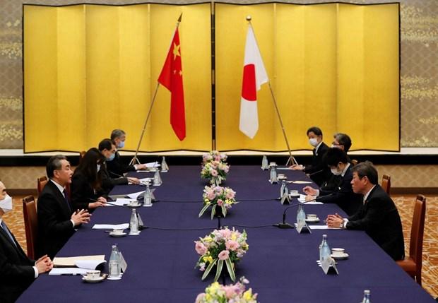 Japon manifiesta preocupacion por acciones de China en el Mar del Este hinh anh 1