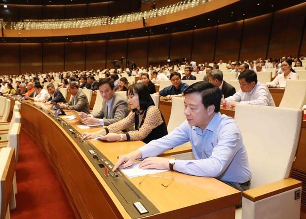 Aprueban relevo de miembros del Comite Permanente del Parlamento vietnamita hinh anh 1