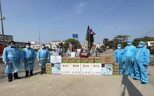 Vietnam y Camboya siguen unidos en lucha contra el COVID-19 hinh anh 1