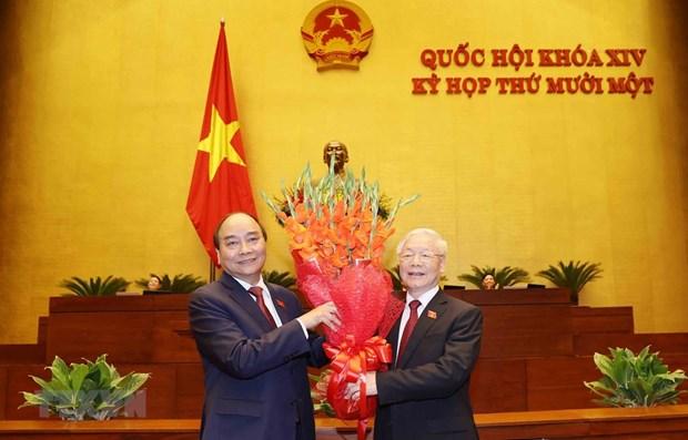 Sudafrica destaca eleccion de nuevos dirigentes del Partido y Estado de Vietnam hinh anh 1