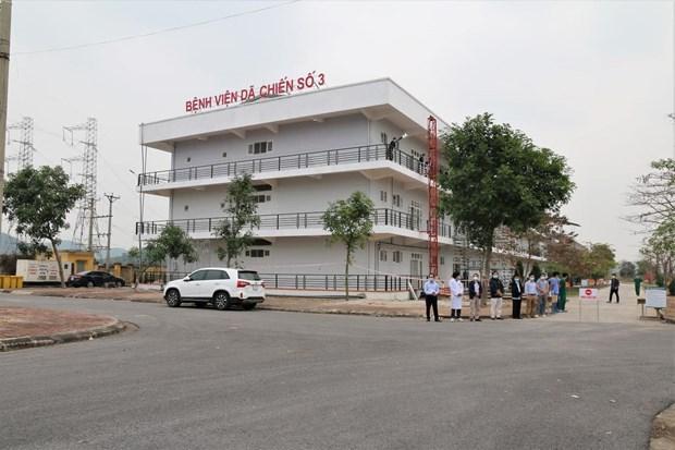 Provincia de Hai Duong cierra su ultimo hospital de campana para el tratamiento del COVID-19 hinh anh 1