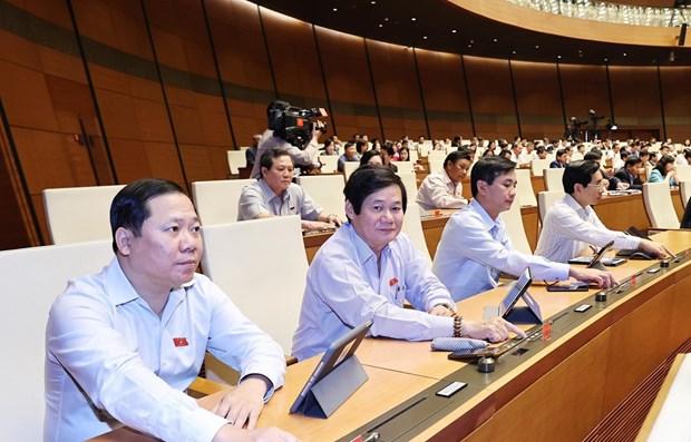 Aprueban relevo de vicepremier y ministros de Vietnam hinh anh 1