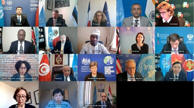 Vietnam preside reunion del Consejo de Seguridad de ONU sobre cuestion de armas quimicas en Siria hinh anh 1