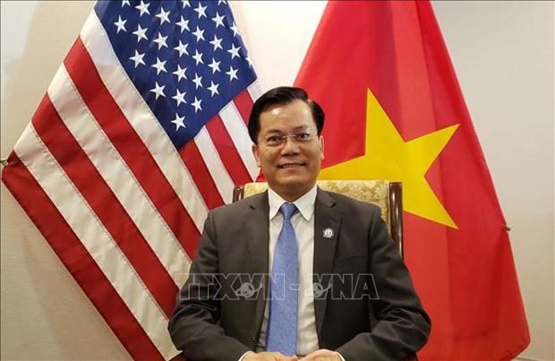 Vietnam sugiere cooperacion con EE.UU. en produccion de vacunas contra el COVID-19 hinh anh 1