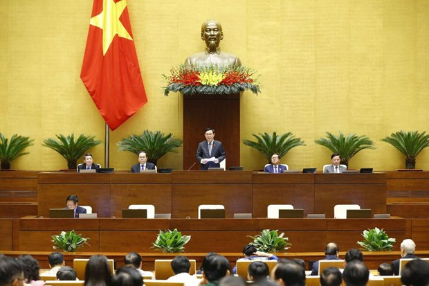 Clausuraran hoy ultimo periodo de sesiones del Parlamento vietnamita de la XIV legislatura hinh anh 1